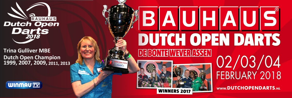 trina Gulliver Dutch Open 2018