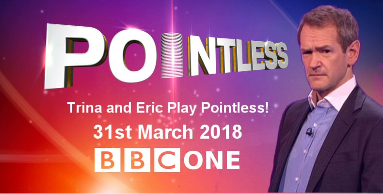 Pointless - Trina Gulliver MBE and Eric Bristow MBE