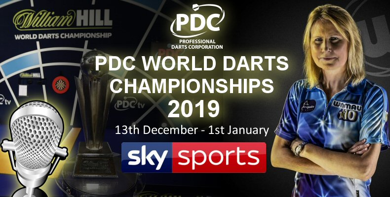Trina Gulliver Joins the Sky Braodcast Team for the PDC WOrld Darts Championships