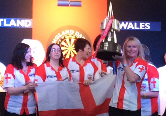 Englands Ladies Dart Team