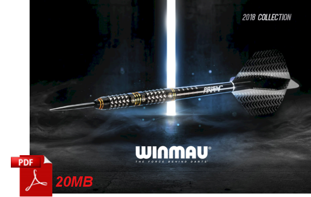 Winmau Products 2018